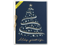 Celestial Tree Laser Cut Christmas Cards
